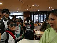 河合塾学園ドルトンスクール東京 社会見学で訪問学習