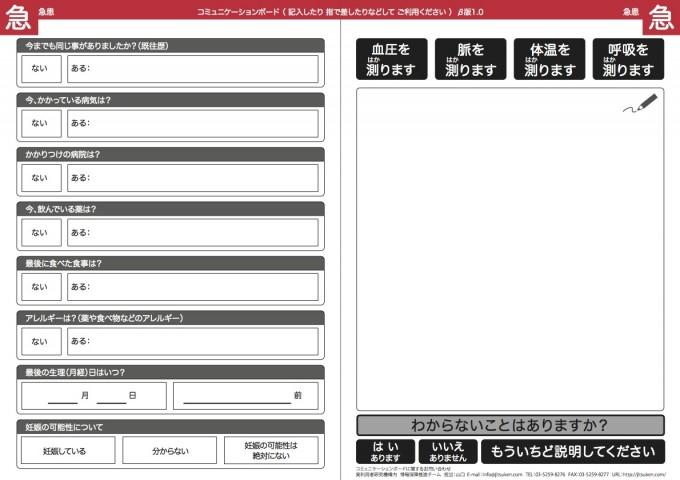 コミュニケーションボード2