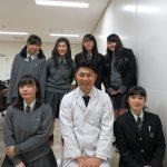 北海道北広島西高等学校修学旅行生がジツケン訪問